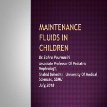 MAINTENANCE FLUIDS in children