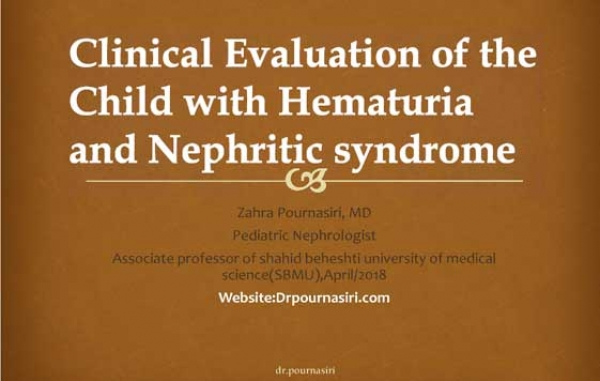 Clinical Evaluation of the hematuria